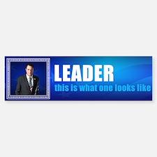 Leader: Alan Grayson Bumper Bumper Sticker