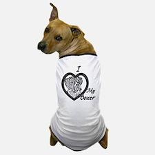 B@W Boxer 3 Dog T-Shirt
