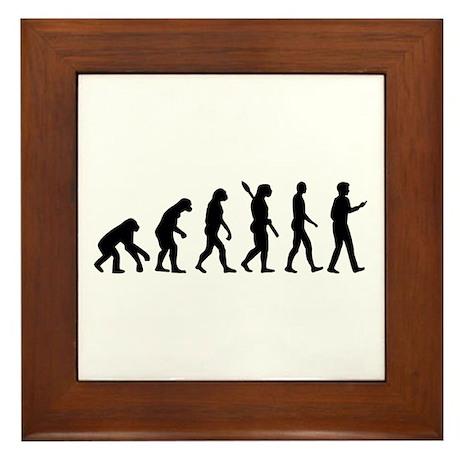 Evolution Cell Smartphone Framed Tile