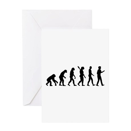 Evolution Cell Smartphone Greeting Card