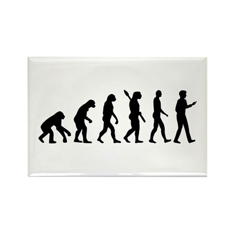 Evolution Cell Smartphone Rectangle Magnet (10 pac