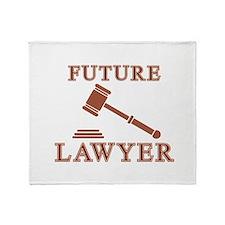 Future Lawyer Throw Blanket