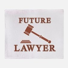 Future Lawyer Throw Blanket