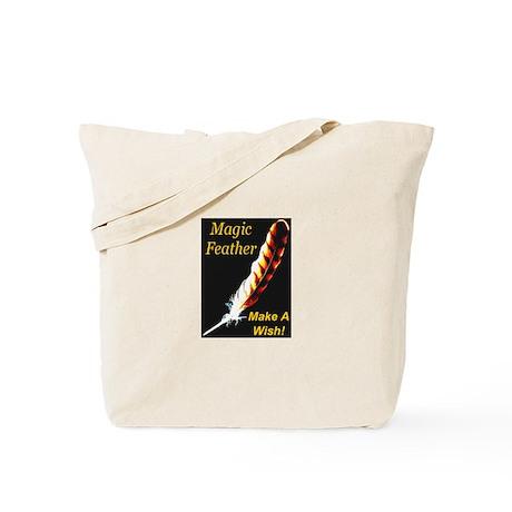Magic Feather Make A Wish Tote Bag