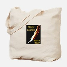 Magic Feather Make A Wish Tote Bag