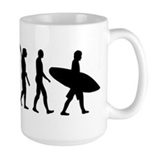 Evolution surfing Mug