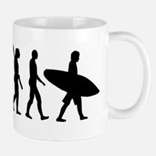 Evolution surfing Small Small Mug