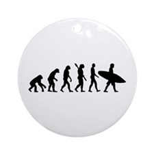 Evolution surfing Ornament (Round)
