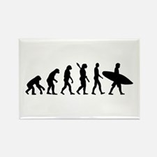 Evolution surfing Rectangle Magnet