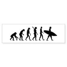 Evolution surfing Bumper Sticker