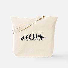 Evolution surfing Tote Bag
