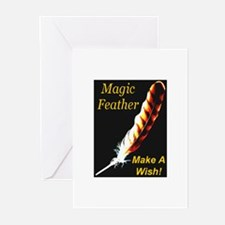 Magic Feather Make A Wish Greeting Cards (Package
