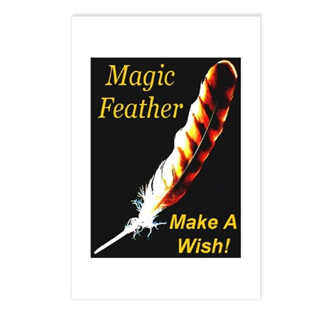 Magic Feather Make A Wish Postcards (Package of 8)