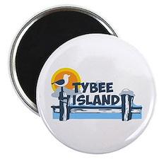 Tybee Island GA - Pier Design. Magnet