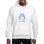 It is a Boy Penguin Hooded Sweatshirt
