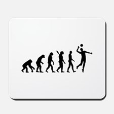 Evolution Volleyball player Mousepad