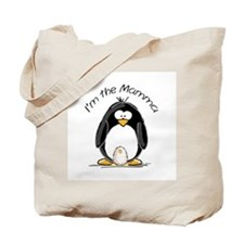 I am the Mamma Penguin Tote Bag