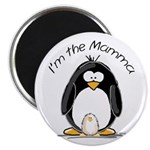 I am the Mamma Penguin Magnet