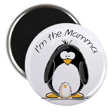 I am the Mamma Penguin Magnet