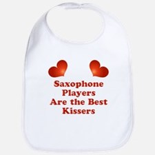 Saxophone players are the best kissers Bib