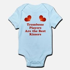 Trombone players are the best kissers Infant Bodys