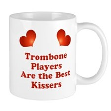 Trombone players are the best kissers Small Mugs