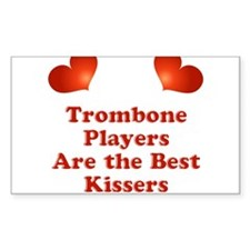 Trombone players are the best kissers Decal