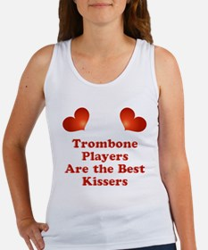 Trombone players are the best kissers Women's Tank