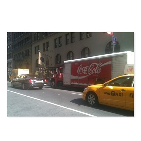 Coke at City Center Postcards (Package of 8)