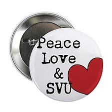"Peace Love & SVU 2.25"" Button"