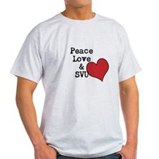 Peace Love & SVU T-Shirt