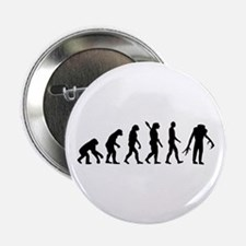 """Evolution scary Zombie 2.25"""" Button"""