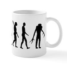 Evolution scary Zombie Mug