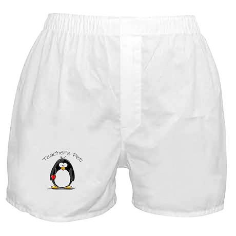 Teachers Pet Penguin Boxer Shorts