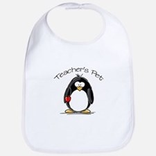 Teachers Pet Penguin Bib