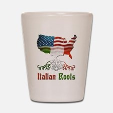American Italian Roots Shot Glass