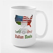American Italian Roots Large Mug