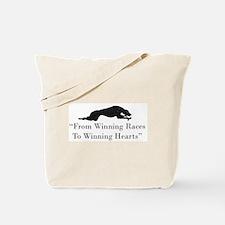 Winning Hearts Tote Bag
