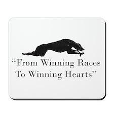 Winning Hearts Mousepad