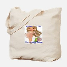 Blame It On The Baby Bump - Brunette Tote Bag