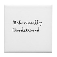 Behaviorally Conditioned Tile Coaster
