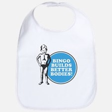 Bingo Builds Better Bodies Bib