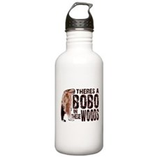 Bobo in These Woods Water Bottle
