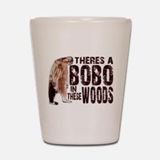 Bobo in These Woods Shot Glass