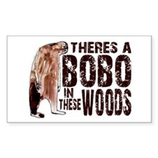 Bobo in These Woods Decal