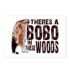 Bobo in These Woods Postcards (Package of 8)