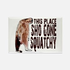 Sho Gone Squatchy Rectangle Magnet (10 pack)