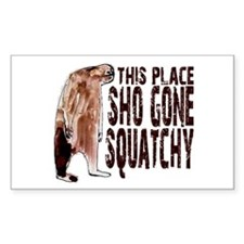 Sho Gone Squatchy Decal