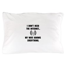 Wife Knows Everything Pillow Case