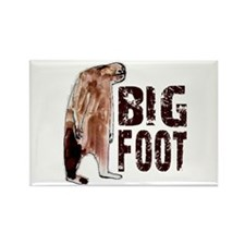 Bigfoot Woodbooger Rectangle Magnet